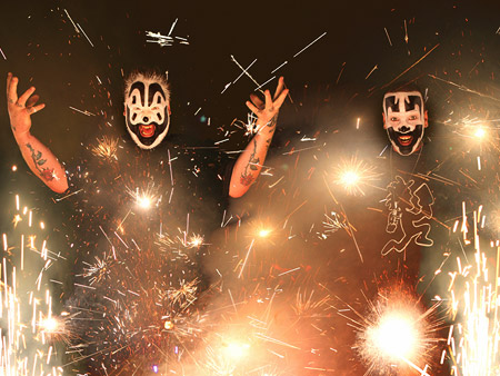 Insane Clown Posse | Cave-in-Rock, Ill. Prepare for tons of burly hip-hop and gallons of Faygo at Insane Clown Posse's yearly blowout. Aug. 11-14