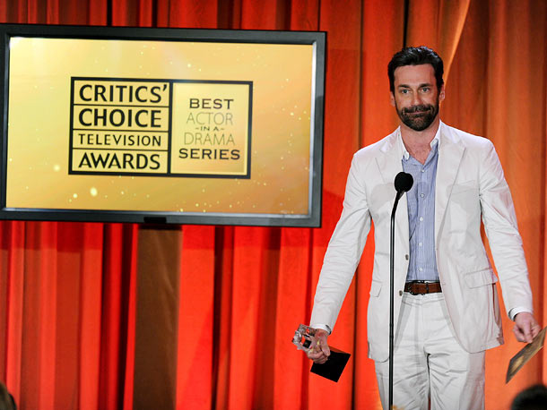 Jon Hamm | Winner: Best Actor in a Drama Series for ''Mad Men''