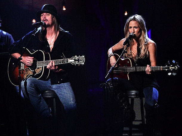 Kid Rock, Sheryl Crow | The onetime couple may seem like unlikely bedfellows, but with Rock's countrification and Crow's newly discovered grit, they should supply a rootsy night of hits.…