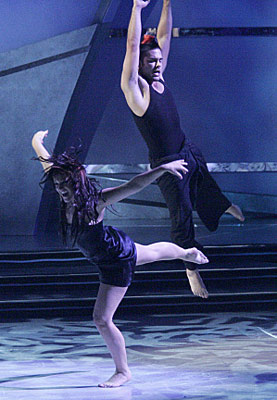 So You Think You Can Dance | Season 3 In hindsight, there's actually not much to this Mia Michaels routine: Lacey's apparently upset, and she flails around a lot, and Kameron basically…