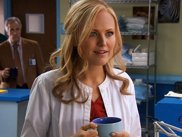 Malin Akerman | Childrens Hospital , Cartoon Network Why she's sizzling this summer: Well, she plays an actress who plays a character named Dr. Valerie Flame, so there's…