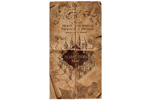 Harry Potter | Four mischievous students who would eventually grow up to be Harry's father, godfather, teacher, and betrayer created this enchanted blueprint of Hogwarts that showed the…
