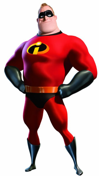 The Incredibles | It requires serious shoulders, but most good clothes do.
