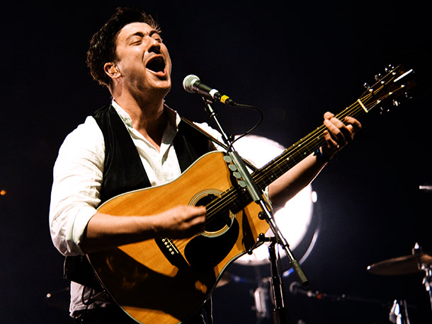 Mumford & Sons | Hot off their railroad tour through the Southwest, the breakout British folkies will focus on the middle of the country. Through June 19