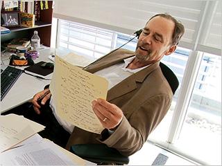 David Carr   New York Times writer David Carr