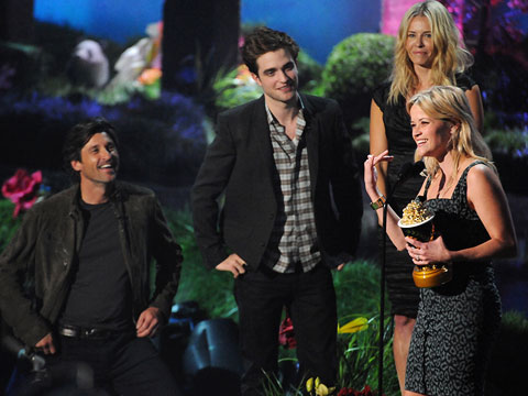 Reese Witherspoon, MTV Movie Awards 2011 | Generation Award recipient Reese Witherspoon dropped a well-timed ''motherf---er'' into her acceptance speech. Reese! What if your kids were watching?