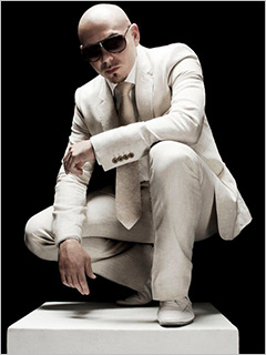 Pitbull | FIERY PLANET Pitbull brings the heat