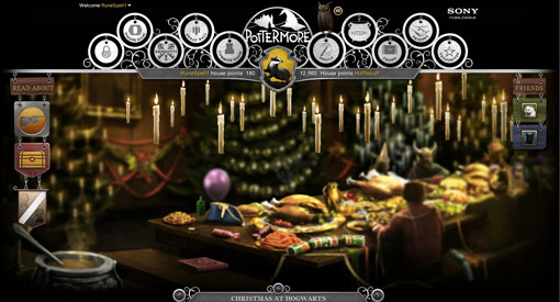 It's Christmas at Hogwarts, and while I've always found it strange that a school for witches and wizards wouldn't be nondenominational, you can have fun…