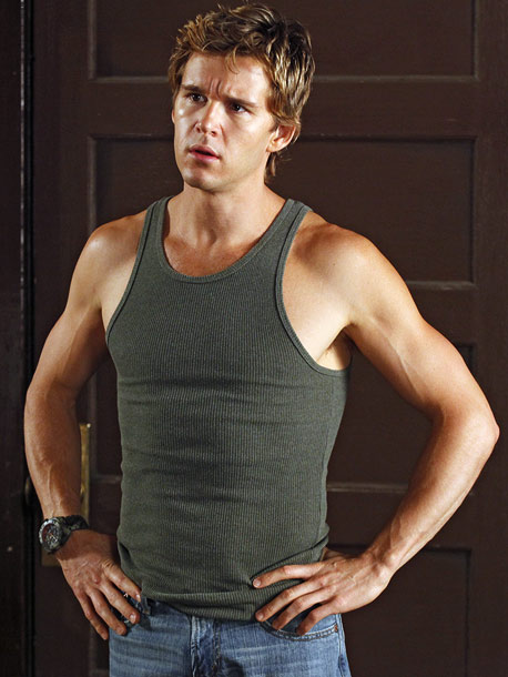 True Blood (Season 3 -- Episode 7: Hitting the Ground), Ryan Kwanten | Why he's sizzling this summer: Anyone notice how Kwanten, who plays Sookie's brother Jason, managed to get even more smoking hot and muscular between season…