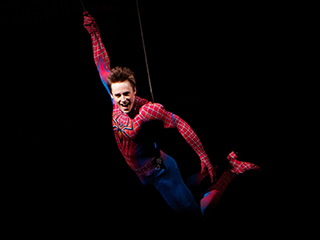 SPIDER-MAN: TURN OFF THE DARK Long-delayed, big-budget musical starring Reeve Carney as the web slinger finally opens