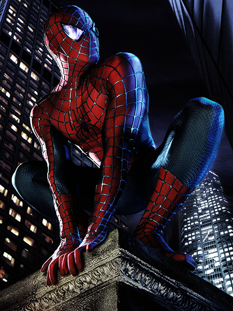 Spider-Man | Connie: It's an incredibly difficult outfit to pull off. It's skintight. It's covered in webs. He's got that mask. But I don't think I ever…
