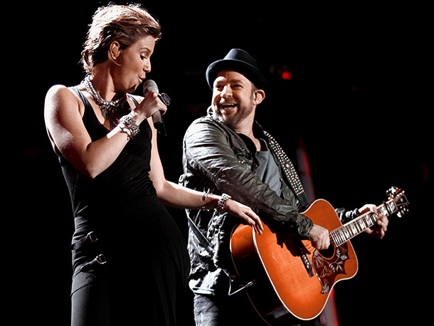 Sugarland | The country duo will stop at legendary spaces (L.A.'s Greek Theatre) and state fairs alike. Through Oct. 21