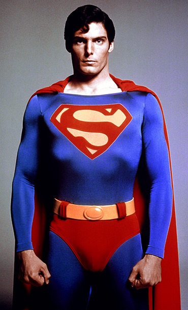 Superman, Christopher Reeve | Connie: You can't go wrong with the classics. And it literally takes balls to wear something this tight. He has no codpiece. He has a…