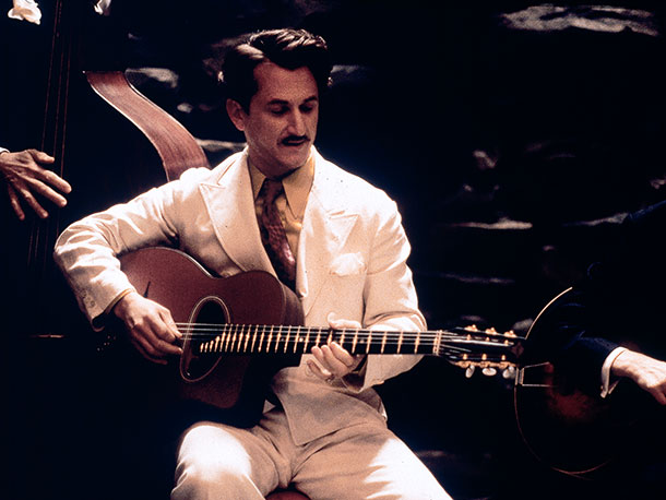 Sean Penn, Sweet and Lowdown | Sean Penn and Samantha Morton earned Oscar nominations for this bittersweet period piece about a callously self-absorbed jazz guitarist who is as reprehensible in his…
