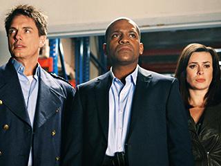 Mekhi Phifer, John Barrowman, ... | NOBODY DIES John Barrowman, Mekhi Phifer, and Gwen Cooper in Torchwood: Miracle Day