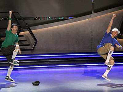So You Think You Can Dance   Season 2 A perfect example of showmanship trumping technique. You could pick apart this first-time partnership between the final season 2 male dancers, Travis and…