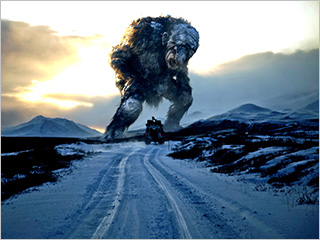 NORWEGIAN HORROR Giant furry troll in Trollhunter