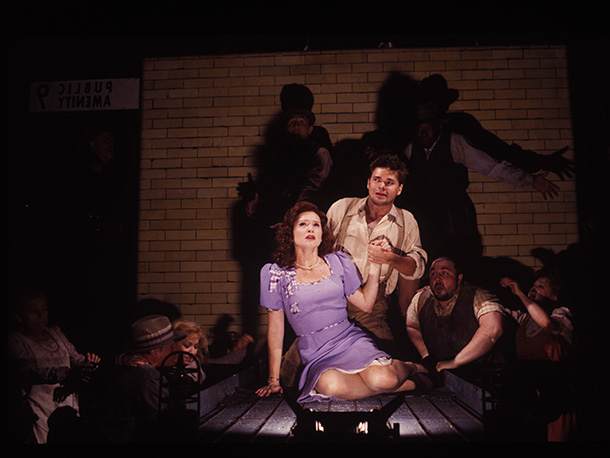 Hunter Foster, Urinetown   What's Urinetown like? To quote the show, ''let's just say it's filled with symbolism and things like that.'' A decades-long drought has made privately owned…
