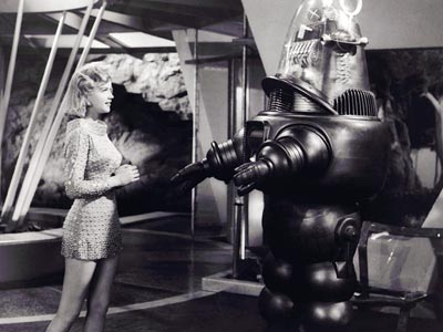 Anne Francis, Forbidden Planet | 12. ROBBY FROM Forbidden Planet (1956) PLAYED BY Designer Robert Kinoshita's creation Robby the Robot, which went on to appear in a handful of other…