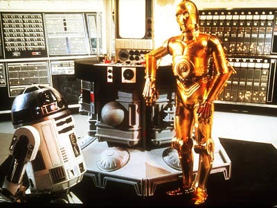 Star Wars: Episode IV - A New Hope | 1. R2-D2 AND C-3PO FROM The Star Wars saga (1977-2005) PLAYED BY Kenny Baker (R2-D2) and Anthony Daniels (C-3PO) PROGRAMMING The Laurel and Hardy of…