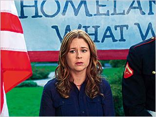 Jenna Fischer, A Little Help | HARD TIMES Jenna Fischer in A Little Help