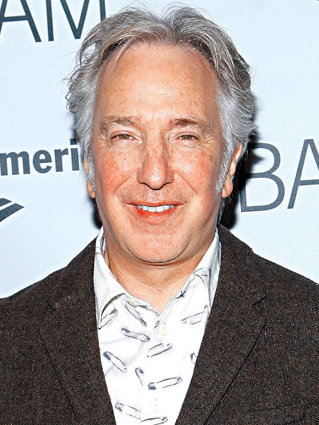 Alan Rickman | Age 65 Next Now shooting the Coen brothers-scripted thriller Gambit with Cameron Diaz and Colin Firth.