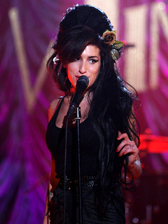 Amy Winehouse Grammys 2008