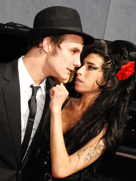 Winehouse and her new husband, Blake Fielder-Civil, were photographed bloodied and bruised in the streets of London after a fight in their hotel suite. Via…
