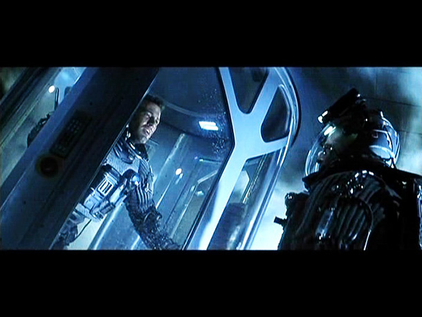 Ben Affleck, Armageddon | Someone has to stay behind on the asteroid to blow it up. But Harry (Willis) fools A.J. (Affleck) and pushes him back onto the elevator…