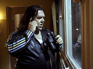 Nick Frost | LOOKING OUT Nick Frost as Ron in Attack the Block