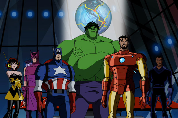 MUST SEE: 10:30-11:30 AM Marvel Television . Previews of Marvel 'toons — the second season of The Avengers: Earth's Mightiest Heroes ; a new Spider-Man…