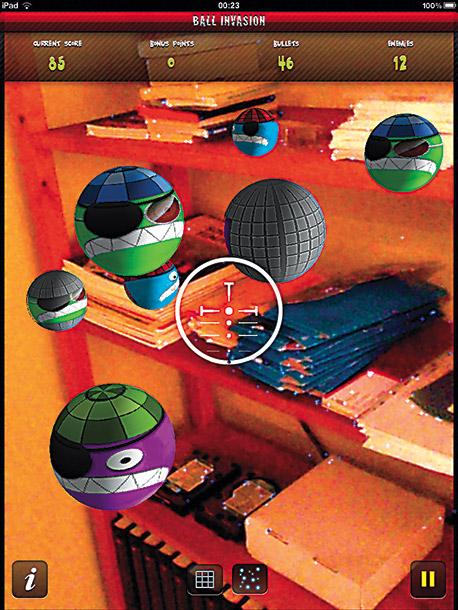 Ball Invasion for iPad 2