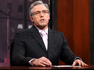 Ben Affleck As Keith Olberman