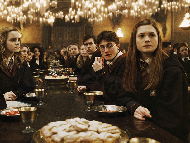 Emma Watson, Bonnie Wright, ...   ''We all read the books when Jo [Rowling] released them, along with everyone else. It let us experience the books as readers and as fans,…
