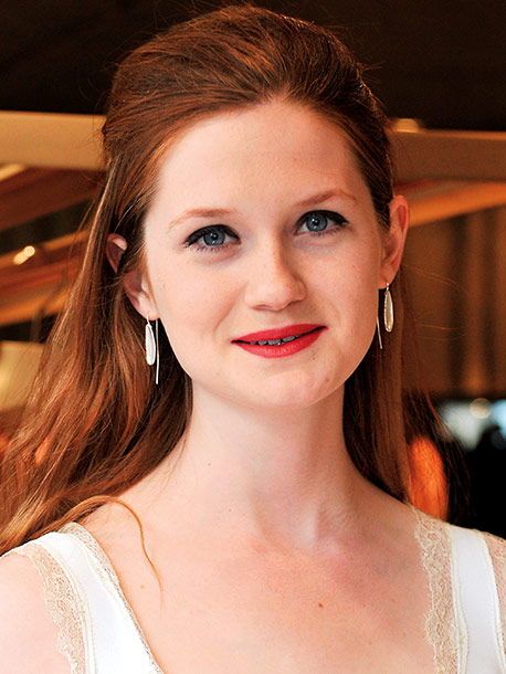 Bonnie Wright | Age 20 Next Appears in next year's Geography of the Hapless Heart ; now filming the indie thriller The Philosophers .