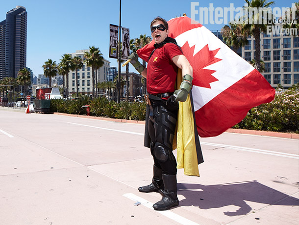 Canadian Robin costume