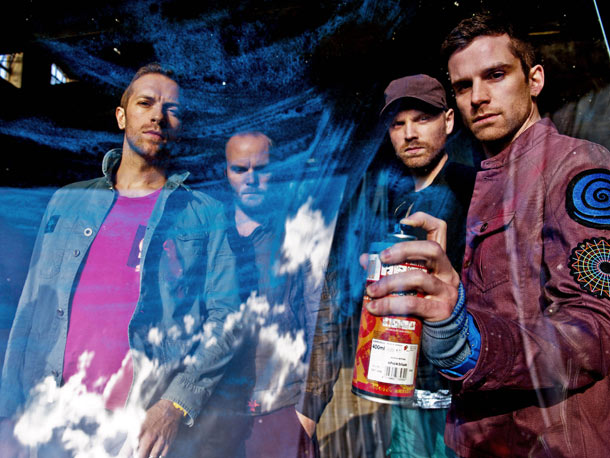 Coldplay's ''Every Teardrop Is a Waterfall'' video