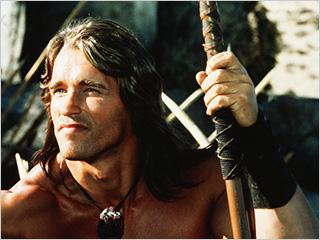 Arnold Schwarzenegger, Conan the Barbarian | SWORD AND SORCERY Arnold Schwarzenegger's breakthrough acting role in Conan the Barbarian