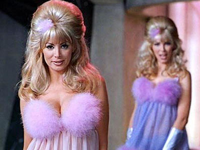 Austin Powers: International Man of Mystery | 20. THE FEMBOTS FROM Austin Powers: International Man of Mystery (1997) PLAYED BY Cindy Margolis (foreground), Cheryl Bartel, Donna W. Scott, Barbara Ann Moore, and…