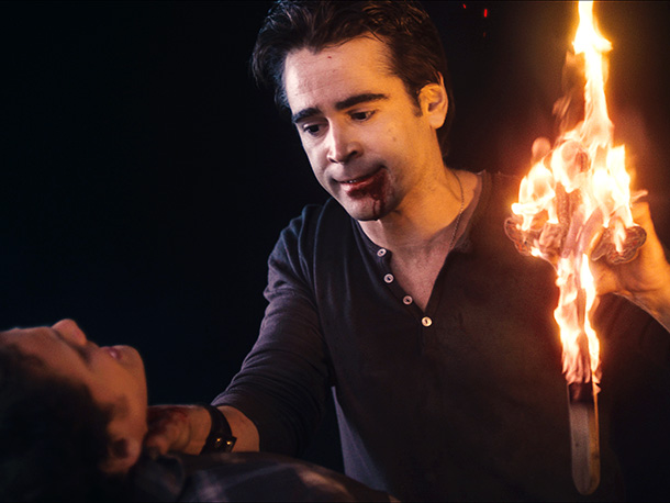 Having vampire Colin Farrell as a neighbor really...well, sucks. In a ?remake of the '80s cult classic, Anton Yelchin ( Star Trek ) plays the…