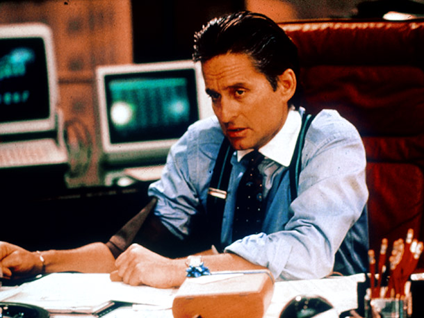 Wall Street, Michael Douglas | Why I'd quit: I don't think I need a mentor bad enough to go down the road to insider trading, no matter how lucrative it…