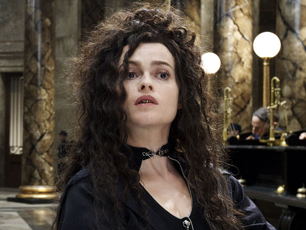 Helena Bonham Carter, Harry Potter and the Deathly Hallows - Part 2   ''I loved my [fake] teeth! I kept them because they're not going to fit anybody else. I keep them in a blue plastic thing in…