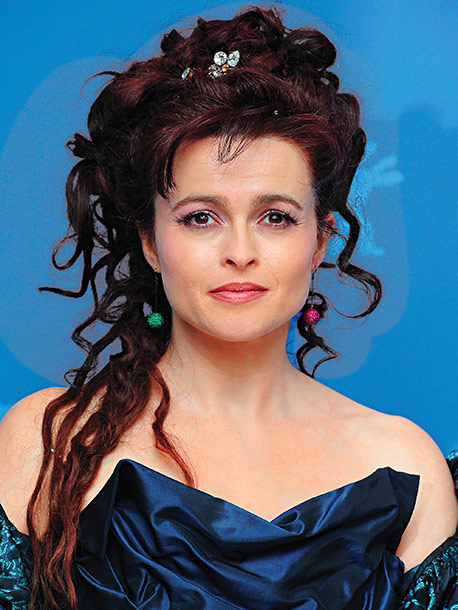 Helena Bonham Carter | Age 45 Next Reteams with Johnny Depp and director Tim Burton in next year's Dark Shadows .