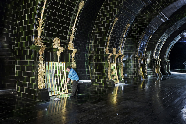 Harry Potter | The Ministry of Magic, that buzzing hive of bureaucracy, was among the largest, most labor-intensive sets built for the series. But while the Ministry represents…