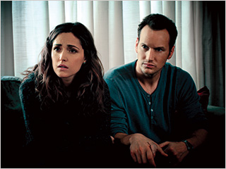 Rose Byrne, Patrick Wilson, ... | HAUNTED-HOUSE Rose Byrne and Patrick Wilson terrified in Insidious