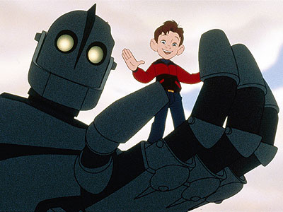 The Iron Giant | 8. THE IRON GIANT FROM The Iron Giant (1999) PROGRAMMING He may have been designed as an interstellar weapon, but the alien android makes an…