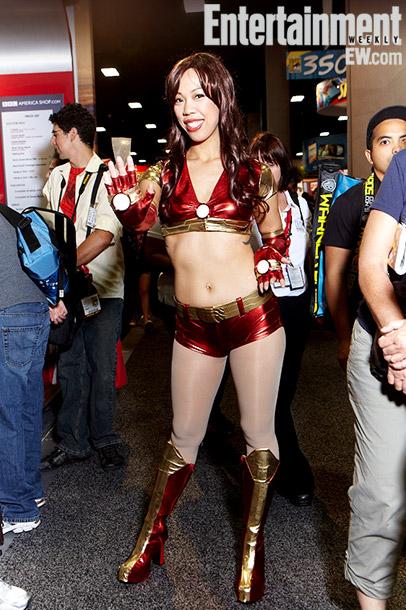 Aj Wu (Iron-Man dancer costume)