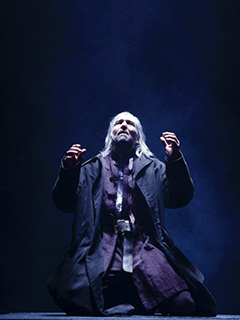 GREG HICKS IN KING LEAR