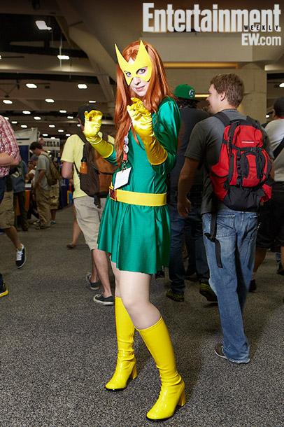 Amie Bosshart (Marvel Girl costume)