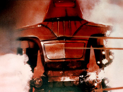 The Black Hole | 18. MAXIMILIAN FROM The Black Hole (1979) PROGRAMMING In this atypically dark Disney adventure, he's the leader of a droid army, the right-hand robot to…